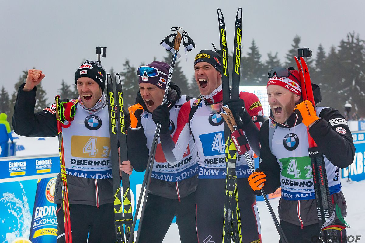 Men's relay from Austria